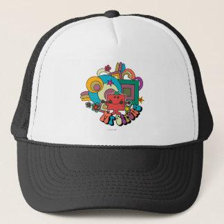 Mr. Strong | Psychedelic Swirls, Stars, & Flowers Trucker Hat