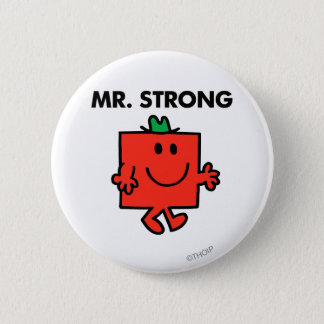 Mr. Strong Waving Hello Button