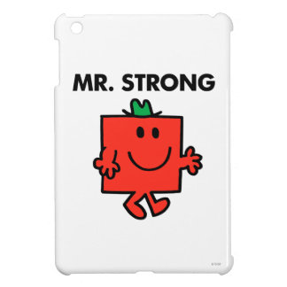 Mr. Strong Waving Hello Cover For The iPad Mini