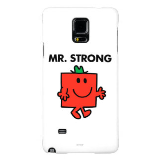 Mr. Strong Waving Hello Galaxy Note 4 Case