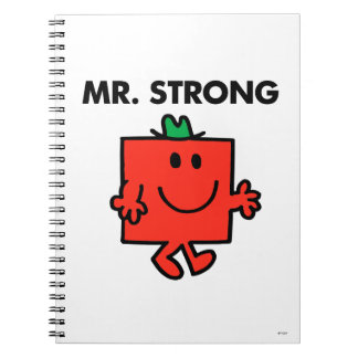 Mr. Strong Waving Hello Note Books