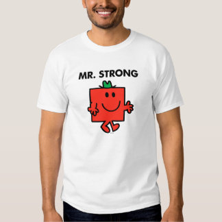 Mr. Strong Waving Hello T Shirt