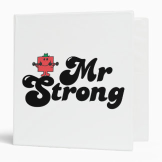 Mr. Strong   Weights & Bubble Lettering Binders