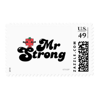 Mr. Strong | Weights & Bubble Lettering Postage