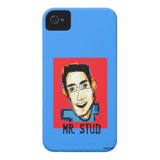 Mr Stud Sketch iPhone 4 Case-Mate Case