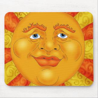 Mr. Sun Mouse Pad