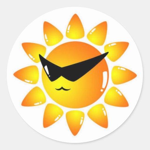 Mr.Sunny - Kool Peel & Stick Sticker