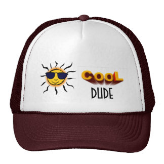 Mr. Sunshine, Cool Dude Mesh Hats