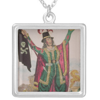 Mr.T.P.Cooke in the role of the Flying Dutchman Silver Plated Necklace