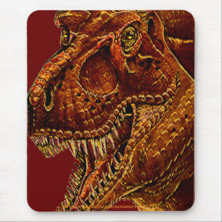 "Mr ""T"" Rex in your face-mouse pad Mouse Pad"