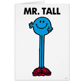 Mr. Tall | Standing Tall Card