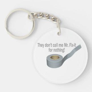 Mr Tape Fix It Keychain