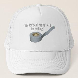 Mr Tape Fix It Trucker Hat