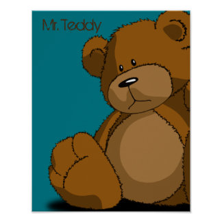Mr. Teddy Poster