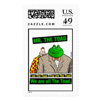 Mr.The Toad Stamp