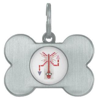 Mr Thermostat Bone Pet Tag