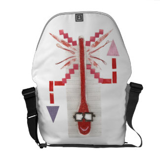 Mr Thermostat Rusksack Courier Bag