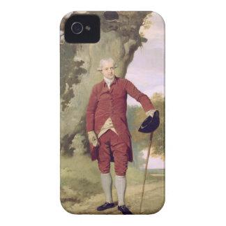 Mr Thrale, c.1770-80 (oil on canvas) iPhone 4 Case-Mate Case