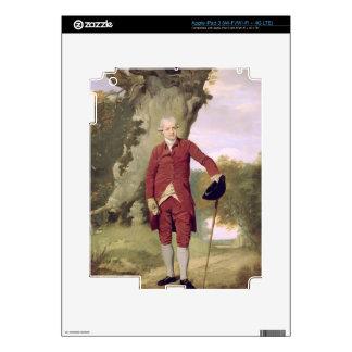 Mr Thrale, c.1770-80 (oil on canvas) iPad 3 Decals