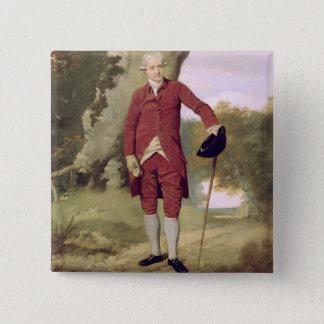 Mr Thrale, c.1770-80 (oil on canvas) Pinback Button
