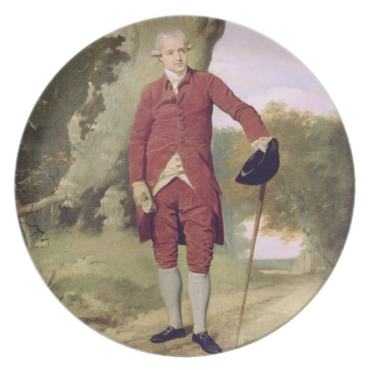 Mr Thrale, c.1770-80 (oil on canvas) Plate