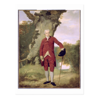 Mr Thrale, c.1770-80 (oil on canvas) Postcard