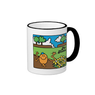 Mr Tickle in Garden Coffee Mug