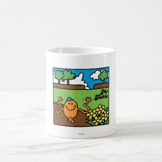Mr Tickle in Garden Coffee Mugs