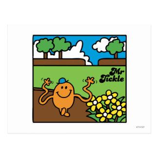 Mr Tickle in Garden Postcard