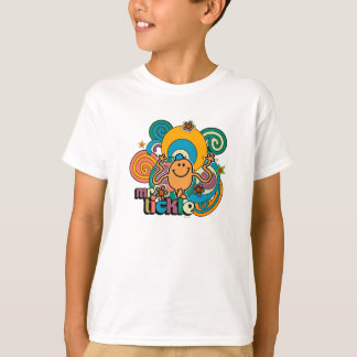 Mr. Tickle | Psychedelic Swirls, Stars, & Flowers T-Shirt