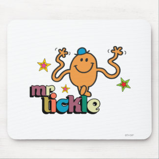 Mr. Tickle | Sparkling Stars Mouse Pad