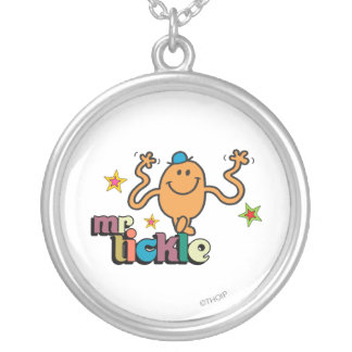 Mr. Tickle | Sparkling Stars Round Pendant Necklace
