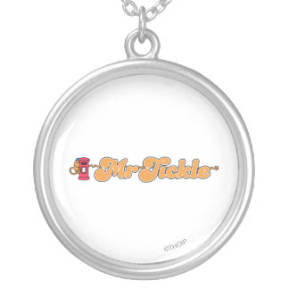 Mr. Tickle | Staying Hidden Round Pendant Necklace