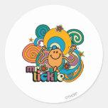 Mr Tickle Swirl Color Sticker