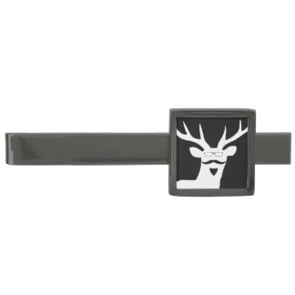 Mr Tie Pin Gunmetal Finish Tie Bar