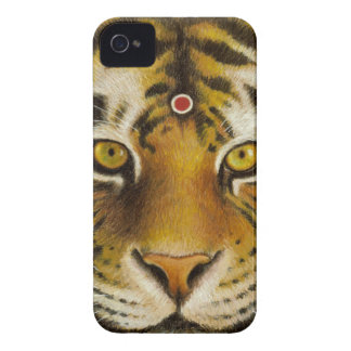Mr Tiger iPhone 4 Case