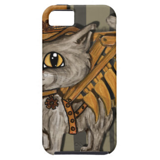 Mr. Tipps Steampunk Cat Fairy iPhone 5 Cover