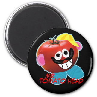 mr. tomato head humorous parody Magnet