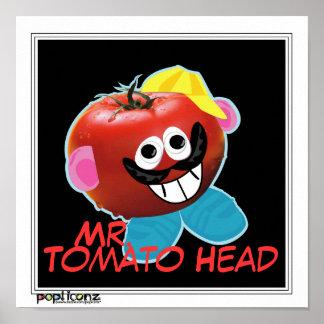 mr. tomato head humorous parody Poster