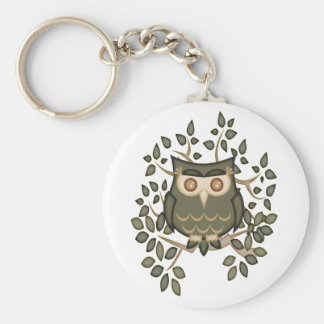 Mr Toot .. the owl Keychain