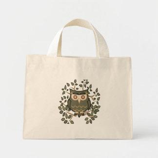 Mr Toot .. the owl Mini Tote Bag