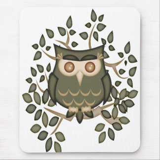 Mr Toot .. the owl Mouse Pad