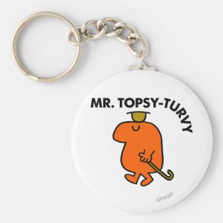 Mr Topsy-Turvy Classic Key Chain