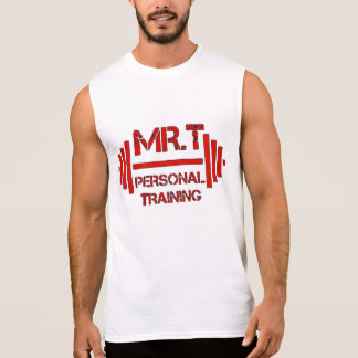Mr.T's Personal Training HALLOWED BE THY GAINZ Sleeveless Shirt