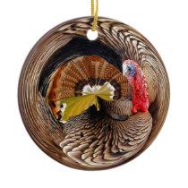 Mr Turkey Ceramic Ornament