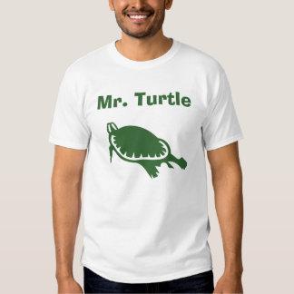 Mr. Turtle T-shirts