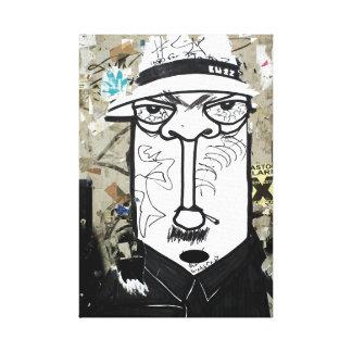 Mr. Undercover street kind Canvas Print