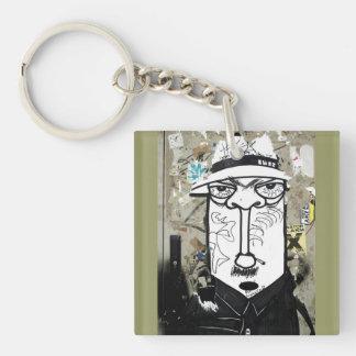 Mr. Undercover street kind Keychain