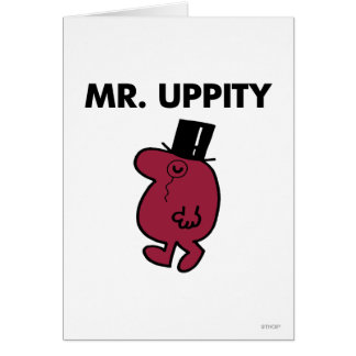 Mr. Uppity | Monocle & Top Hat Card