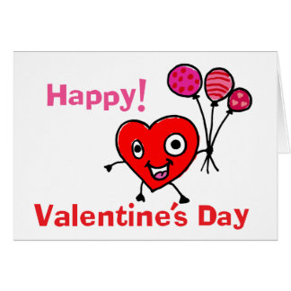 Mr Valentine Heart Greeting Card